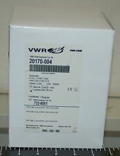BOX OF125 VWR 20170-004 DISPOSABLE 0.2ML 8-WELL STRIP TUBES & CAP FOR PCR - New