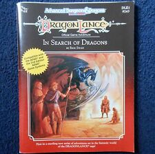 DLE1 dragonlance in search of dragons adventure module donjon et ad&d tsr 9243