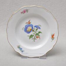 Meissen Blume 2 - blaue Bandwinde, Dessertteller / Teller 16 cm