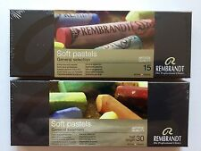 New Two Sets  Rembrandt General Selection Soft Pastels 45 Total