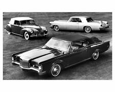 1969 Lincoln Continental Mark I, II and III Factory Photo uc4098-838MF6