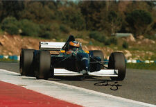 Karl Wendlinger Hand Signed Red Bull Sauber Ford F1 Photo 12x8.