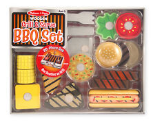 20 Pc. Wooden Grill & Serve BBQ Set # 9280 ~ New for 2015! Melissa & and Doug