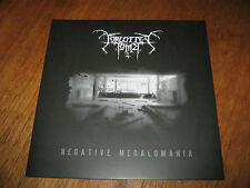 "FORGOTTEN TOMB ""Negative Megalomania"" LP leviathan shining"