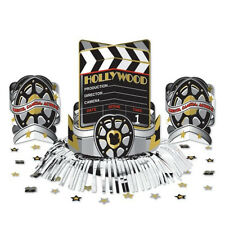 Hollywood Movie Clapper Board Birthday Party Table Centerpiece Decoration Kit
