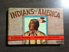 "Vintage ""Indians of America"" Hardcover 