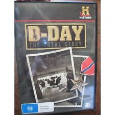 D Day The Total Story DVD - History Channel WW2 Invasion France