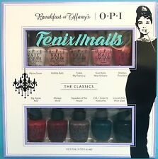 OPI BREAKFAST AT TIFFANY'S 10-pc Mini Nail Polish Gift Set~ HRH26 Top Ten Colors