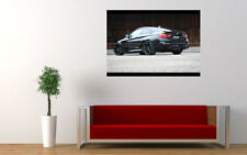 BLACK BMW M4 G POWER NEW GIANT LARGE ART PRINT POSTER PICTURE WALL