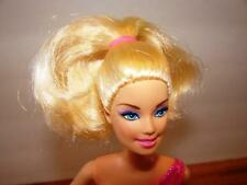 Mattel~Barbie Doll~1998 Head & 2009 Body Style~Blonde Hair~