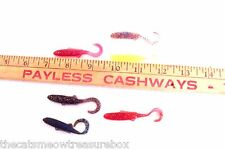 Soft Plastic Fishing Lures Swimming Minnows Croppy Jig New Bass Fishing Lot of 7