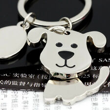 Spinning Cute Dog Keychain Key Chain Ring Keyring Key Fob,Funny Gift 85712