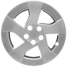 "Silver Hub Cap Fits 2010 '11 '12 15"" Aftermarket Wheel Cover Fits Toyota Prius"