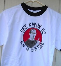 "NEW  NAPOLEON DYNAMITE REX KWON DO ""BOW TO YOUR SENSI MEN'S TEE SHIRT SIZE MED"