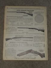 1940 Iver Johnson Shotguns Skeet Hercules Super Trap Price List AD Catalog Page