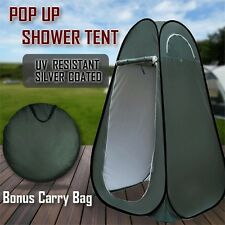 Pop Up Camping Shower Toilet Tent Outdoor Privacy Portable Change Room Shelter W