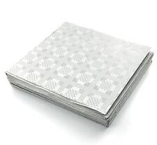 25 Libro bianco usa e getta TOVAGLIE, Coperture, Feste, Cibo, Ristorazione, Quadrato