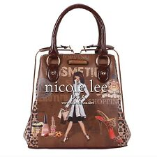 ! Nicole Lee Gitana Handbag Cosmetic Purse Vintage COSMETICS