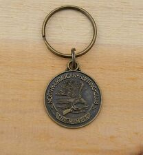 North American Hunting Club Life Member Metal Keychain The Future Depends On Me