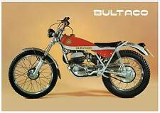 BULTACO Poster Sherpa T SherpaT 350 250 1974 Classic Trials Suitable Frame
