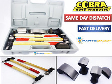 7PC CAR AUTO BODY PANEL REPAIR TOOL KIT WITH WOODEN HANDLES BEATING HAMMERS 1513