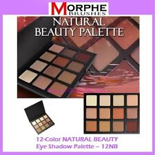 NEW Morphe Brushes 12-Color NATURAL BEAUTY Eye Shadow Palette 12NB FREE SHIPPING