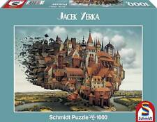 SCHMIDT JIGSAW PUZZLE A CITY ON THE WING JACEK YERKA 1000 PCS #59512 FANTASY