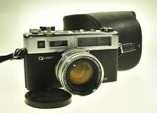 Chrome G Yashica Electro 35GSN 35 GSN Rangefinder Camera 45mm F1.7
