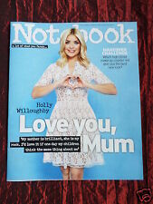 HOLLY WILLOUGHBY - NOTEBOOK  UK SUPPLIMENT MAGAZINE- 6 MAR 2016