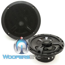 "ROCKFORD FOSGATE T1650 POWER 6.75"" 2-WAY ALUMINUM TWEETERS COAXIAL SPEAKERS NEW"