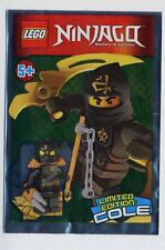 "Lego Ninjago ""Ninja Cole"" mini polybag 891503 SEALED gi"