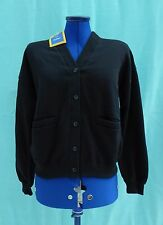 BHS Black School Sweatshirt Cardigan  158cm, Bust 32""