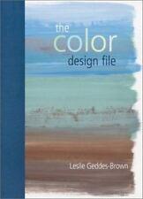The Color Design File Geddes-Brown, Leslie Spiral-bound