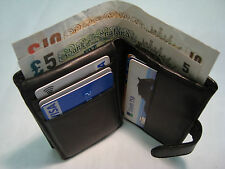 Leather Credit Card Holder with Paper Money Space Top Quality in Gift Box