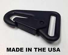 "USA MADE HK H&K 1"" Style Sling Clip Snap Hook Spring Gate Quick Release"
