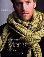 Men's Knits :) 20 New Classics by Erika Knight - New Book Illustrated