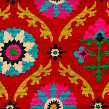 Mayan Medallion Desert Flower Empress Swag Valance Lined Cotton