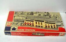 jouef   ho  ref  1021   maquette    construire  d'une   gare