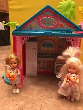 Mattel Barbie's Tommy and Kelly Dolls w/accessories