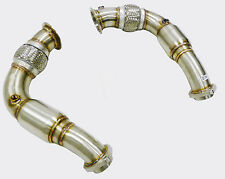 Becker Performance High flow resonated Down pipe BMW X6 4.4l  N6 V8 ENGIN