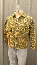 "Vintage ""ALWAYS_DRI"" Camouflage Cotton Hunting Jacket sz Med"