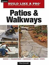 Patios and Walkways by Peter Jeswald (2010, Paperback)