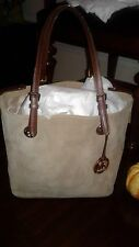 AUTHENTIC MICHAEL KORS SUEDE TOTE BAG