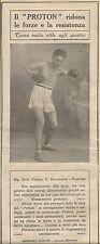 W1042 PROTON - Gaetano Lopane - Laterza - Pubblicità 1926 - Advertising