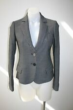 EMPORIO ARMANI black & white jacket/blazer - size 38, AU 8, $699 NEW !