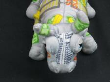 COW PARADE WALL STREET BUY SELL STOCK QUOTES DOLLARS GOLD  PRINT  PLUSH STUFFED