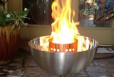 "B4K: PROPANE 4"" TIKI TORCH D.I.Y. Fire Bowl Burner Kit; 316 stainless - no bowls"