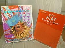 Harcourt Storytown twists and Turns Grade 3 & FCAT practice Book  VG