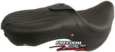 02-03 YAMAHA ROAD STAR WARRIOR 1700 CORBIN DUAL TOURING SEAT BLACK LEATHER NEW!