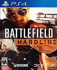 PS4 Battlefield HARDLINE Battle Field NEW Sealed Region Free USA Video game